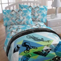 4pc X Games BMX Twin Bedding ESPN Extreme Sports Bed ...