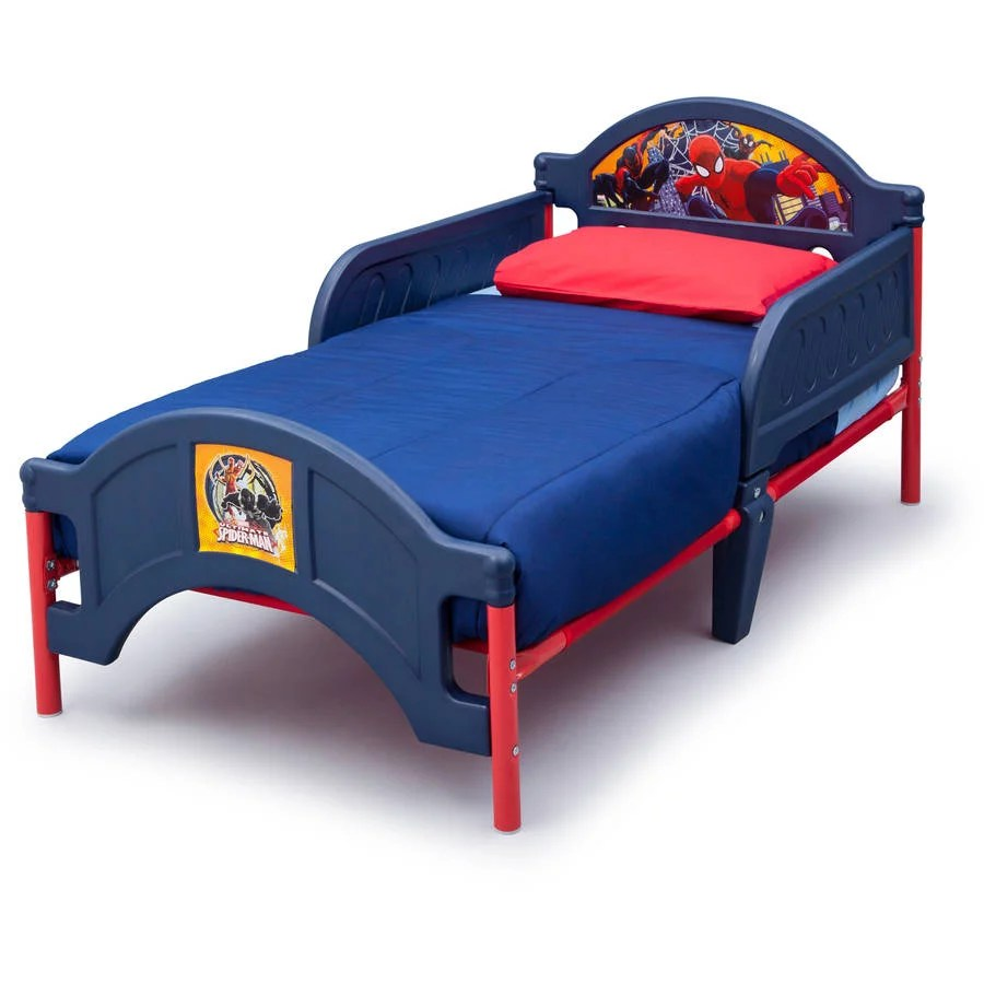 Cheap Toddler Beds Character Corner Toddler Bed Assortment W Mattress Bundle Your Choice Of Character Walmart