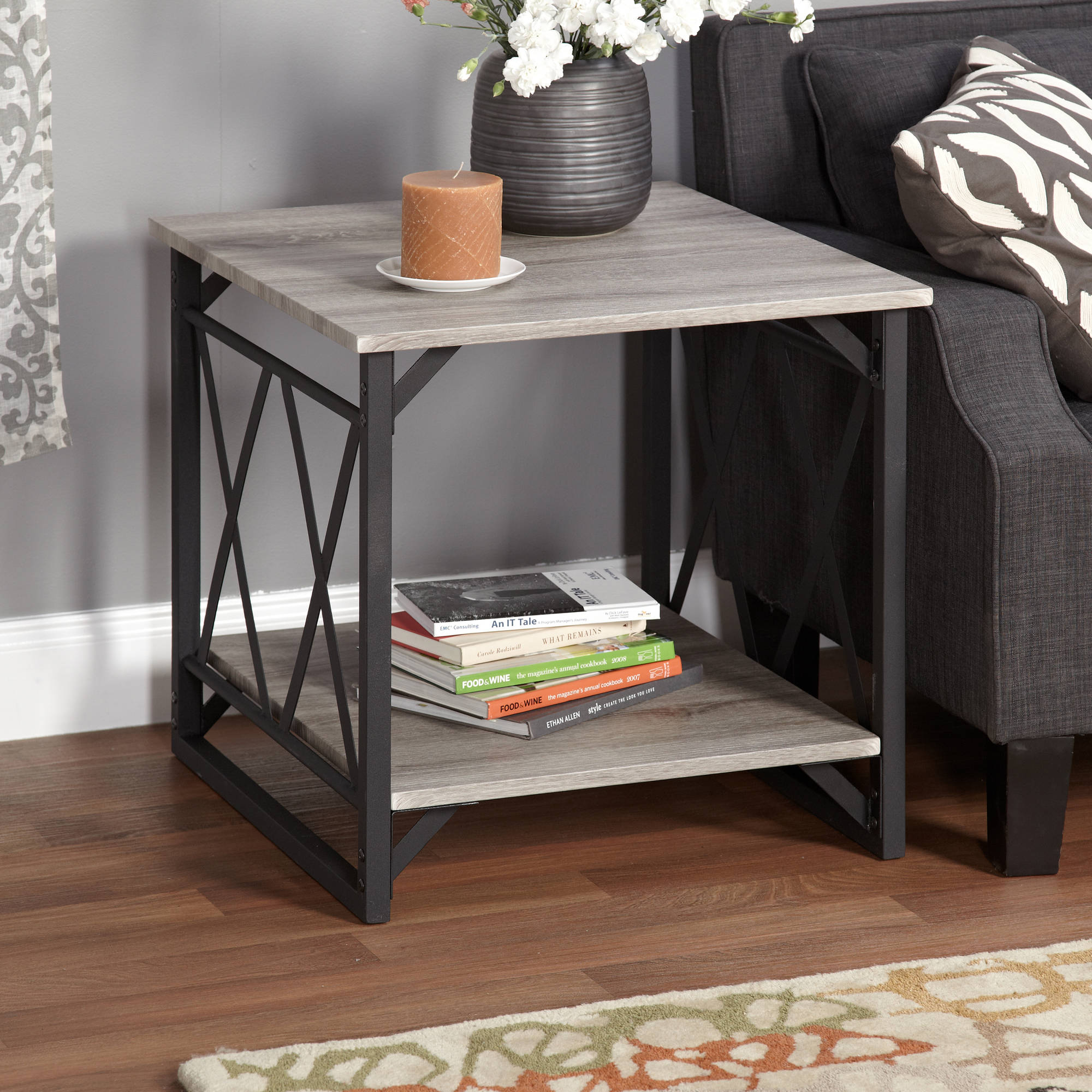 Black End Tables With Drawer Lenyxx Collection End Table Multiple Colors