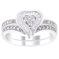 Always and Forever Platinaire 1/4 Carat. T.W. Diamond ...