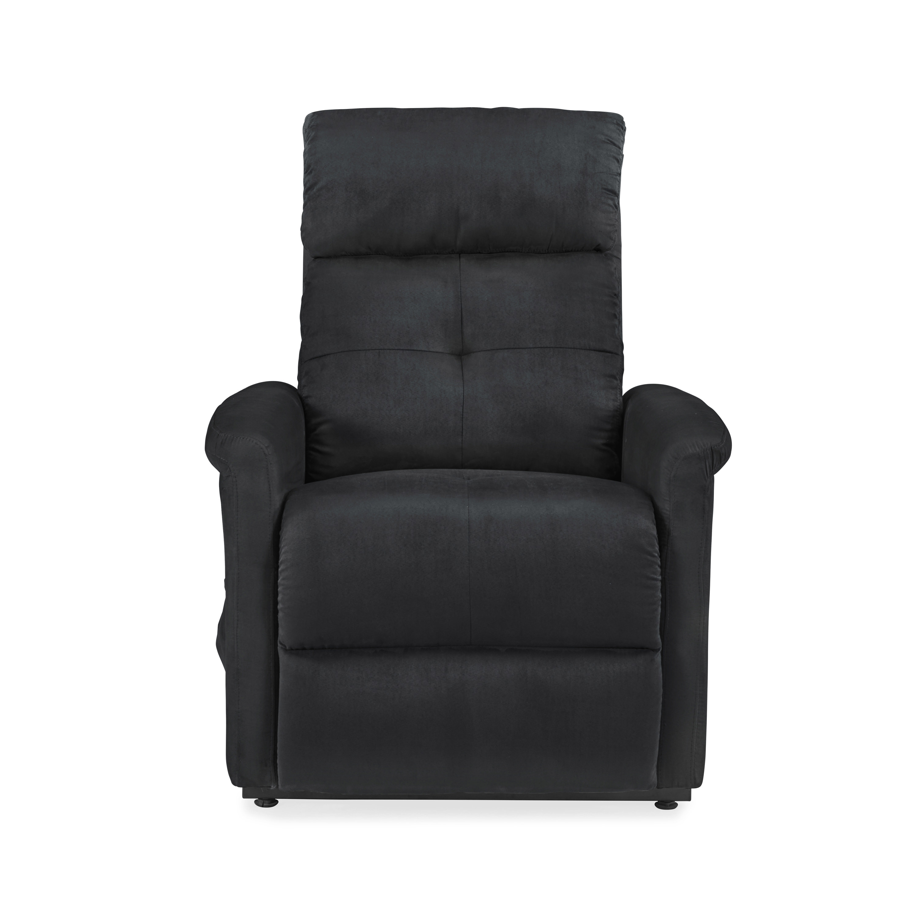 Recliner Toronto Toronto Power Recline And Lift Chair In Black Microfiber