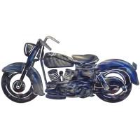 Metal Wall Art 3D Medium Motorcycle Wall Art by Next ...