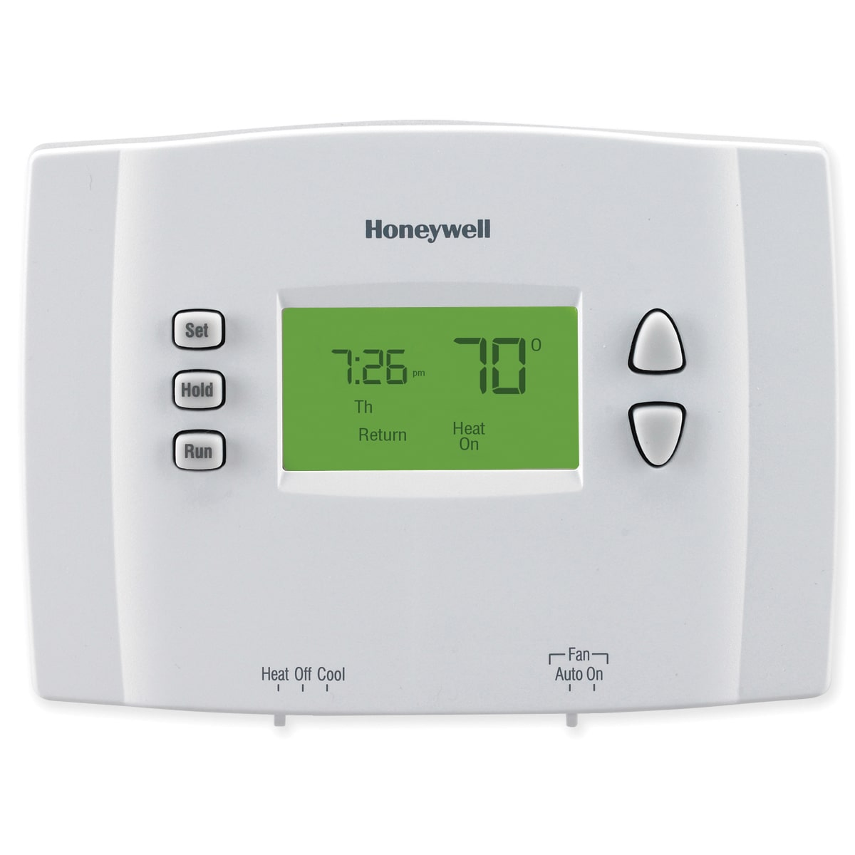 Honeywell Programmable Thermostat Honeywell 5 2 Day Programmable Thermostat