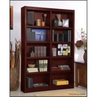 Concepts In Wood MI4872-C Double Wide Bookcase, Cherry ...
