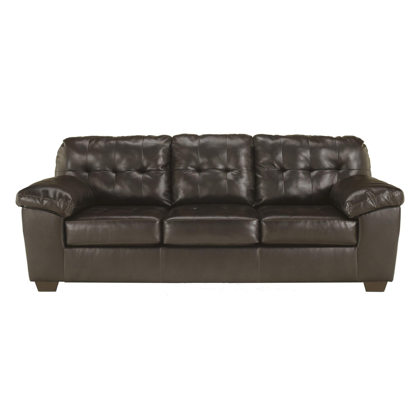 Sofa Queen Signature Design By Ashley Alliston Durablend Queen Sofa Sleeper