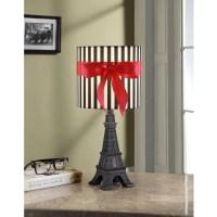 your zone paris lamp with CFL bulb, black - Walmart.com