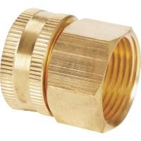 Best Garden Brass Swivel Hose Connector - Walmart.com
