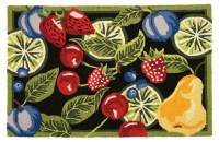 Homefires Fresh Fruit Area Rug - Walmart.com