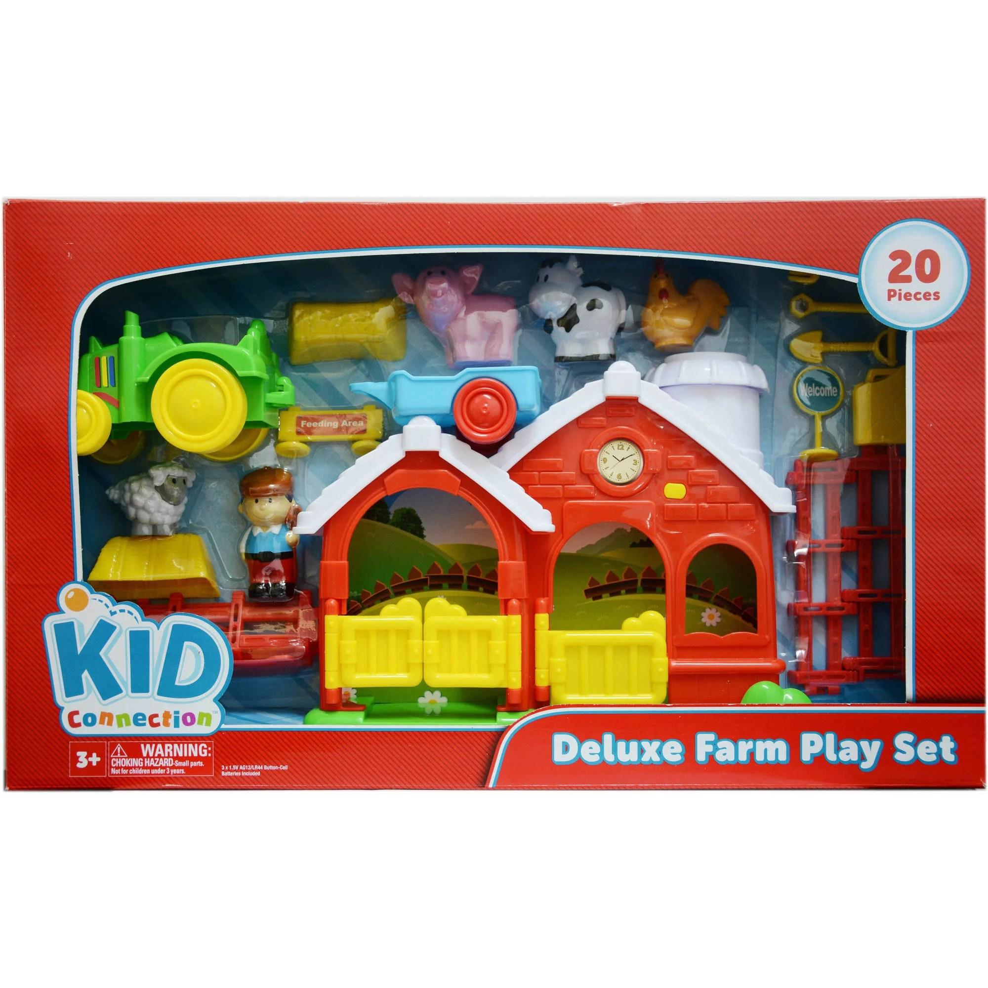 Kid Connection Farm Play Set Walmart