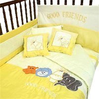 Animals Good Friends Toddler Bedding Crib Comforter Set ...