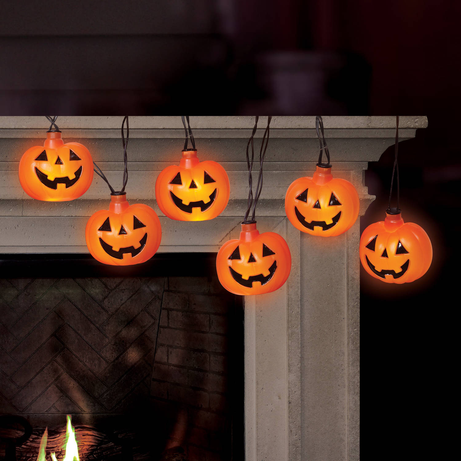 Led Halloween Lights Battery Operated Pumpkin Led Halloween Lights With Spooky Sound