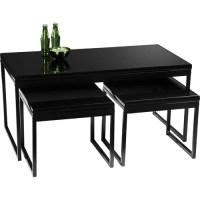 Convenience Concepts 3 Piece Coffee & Accent Tables Set ...