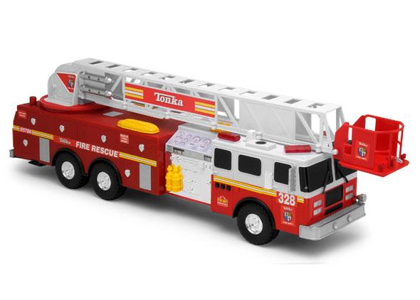 Tonka Rescue Fire Engine Walmart