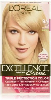 L'Oreal Paris Excellence Creme Haircolor, Light Ash Blonde ...