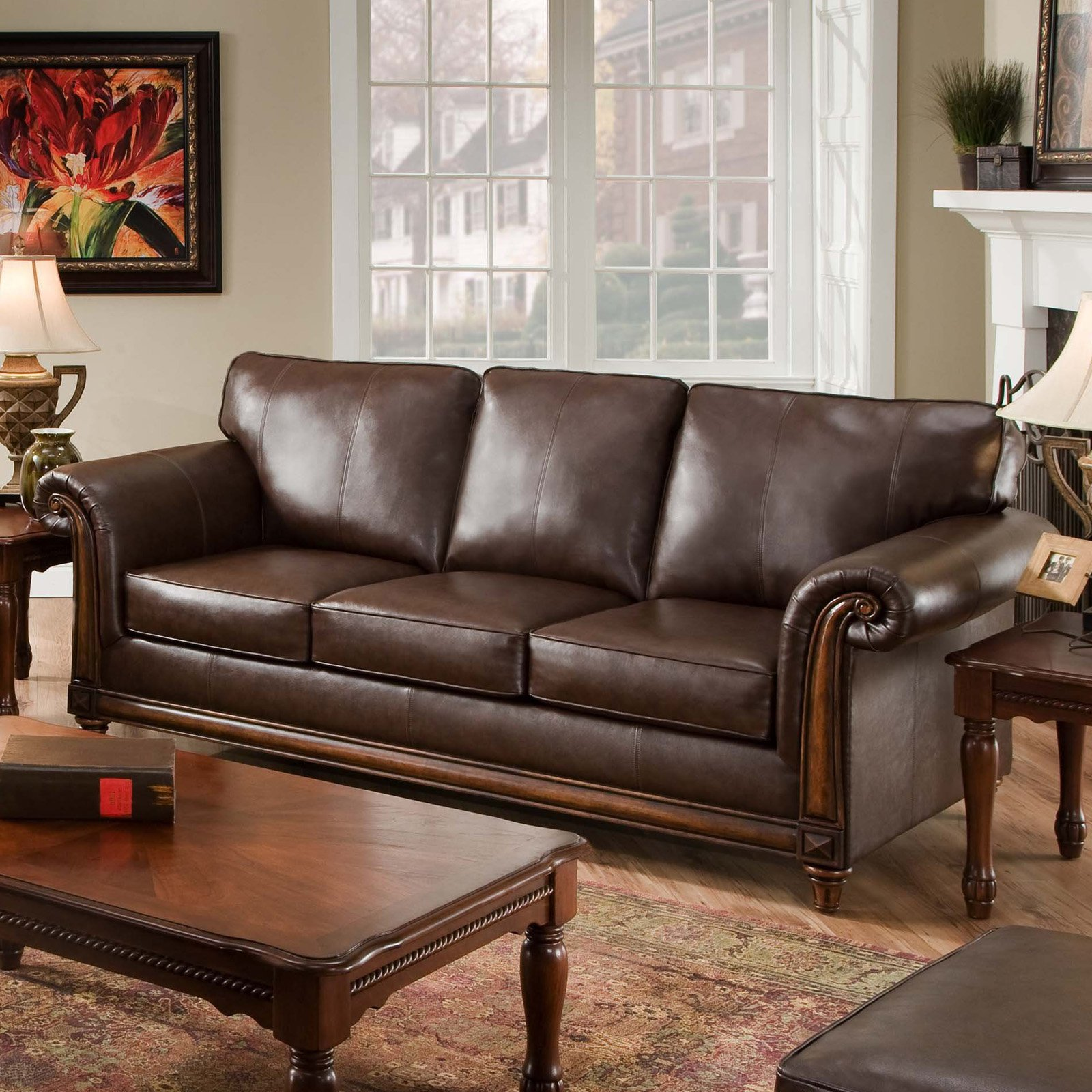 Scandinavian Furniture San Diego Simmons San Diego Coffee Leather Sofa