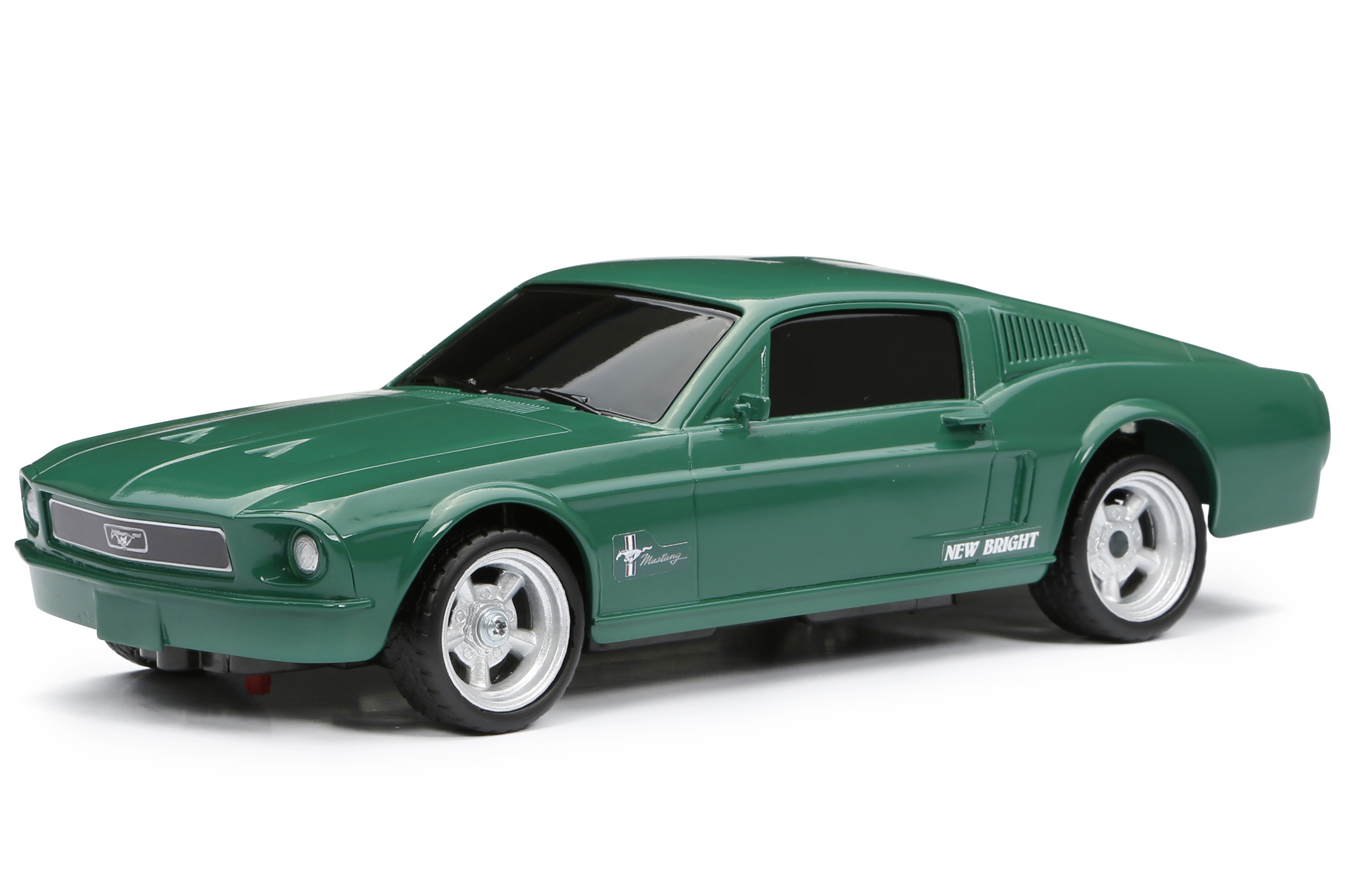 New Bright 1 16 Rc Chargers 68 Mustang Walmart
