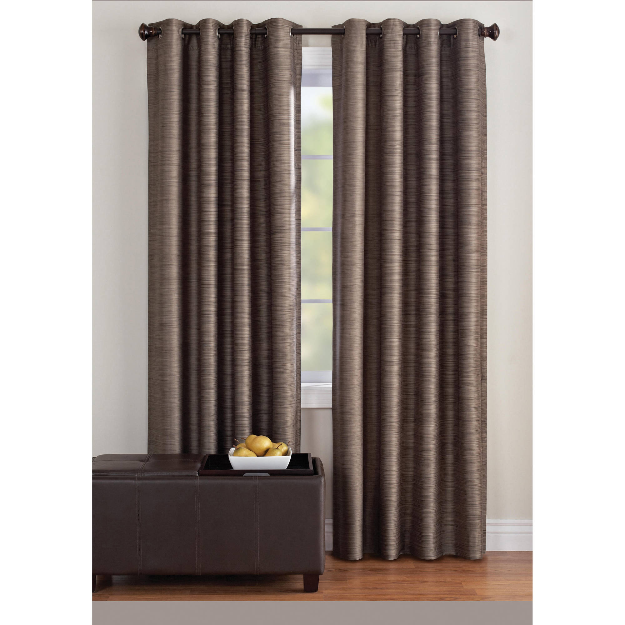 Walmart Thermal Curtains Better Homes And Gardens Tangier Printed Thermal 99