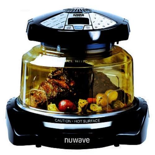 Nuwave Elite Oven W Extender Ring Stainless Steel Liner