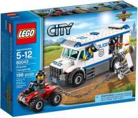 LEGO City Police Prisoner Transporter Building Set ...