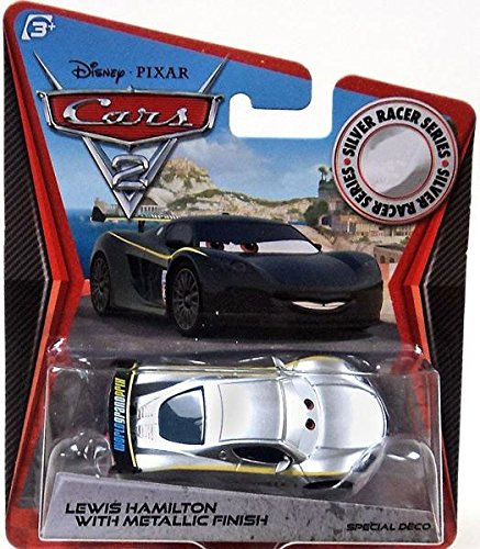 Cars Pixar Lewis Hamilton Disney Pixar Cars 2 Lewis Hamilton With Metallic Finish