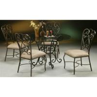 5 Pc Magnolia Round Dining Table & Chairs Set - Walmart.com
