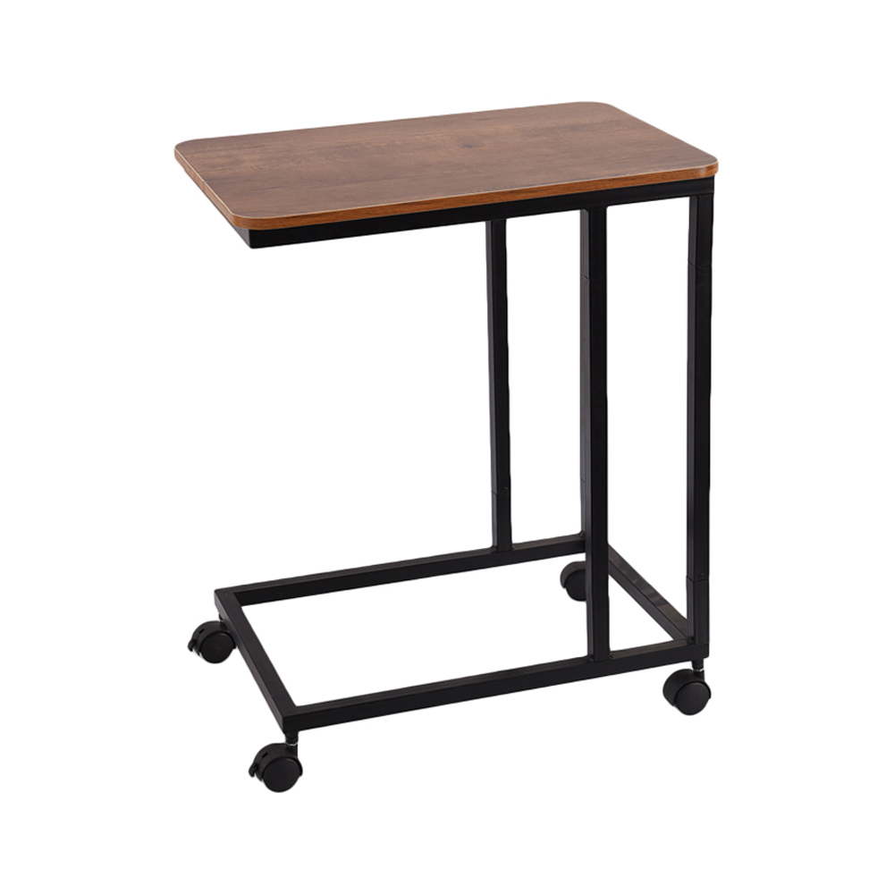 C Table Sofa Side End Tables For Living Room Couch Table Slide Under Mobile Snack Side Tablefor Coffee Laptop With Wheels Wood Look Over Bed Table Metal Frame Walmart Com Walmart Com