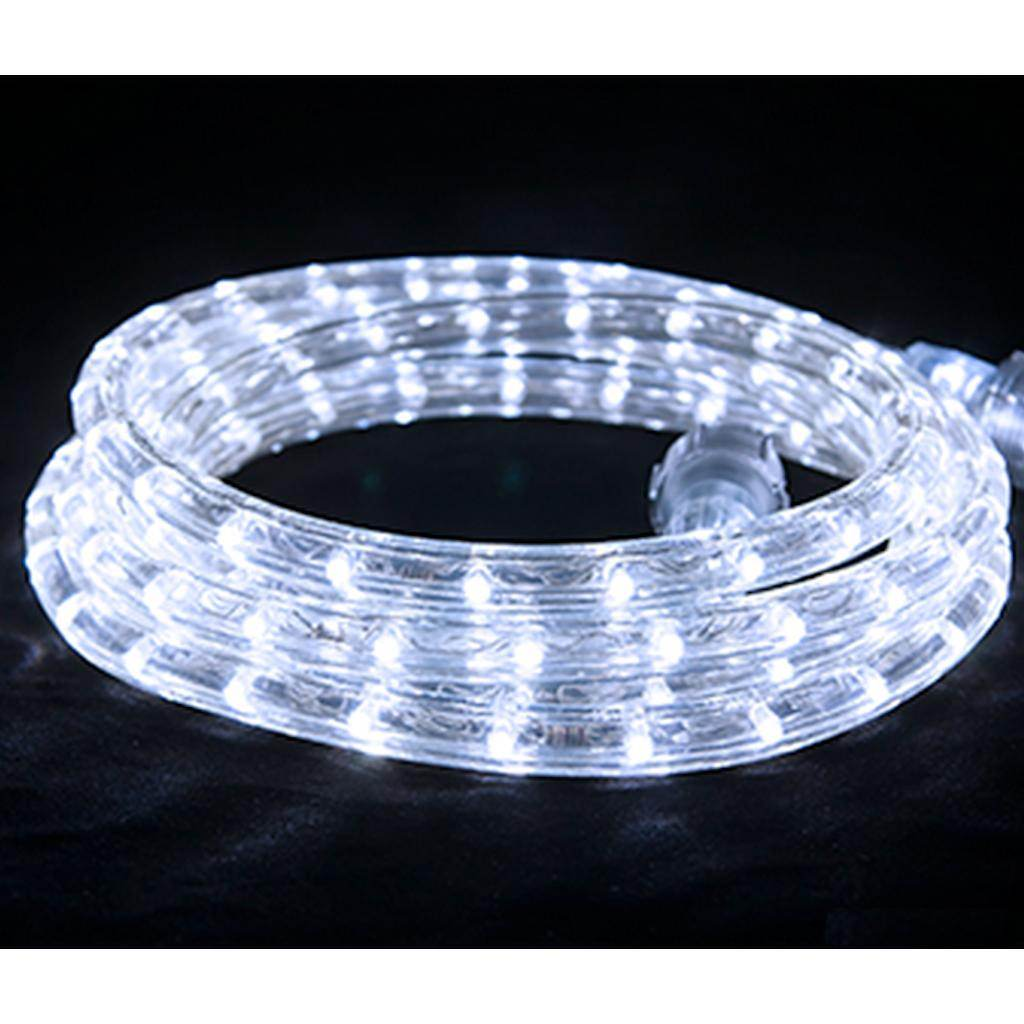 Led Lights At Walmart Led Flexbrite Rope Light Set 9 Ft Cool White