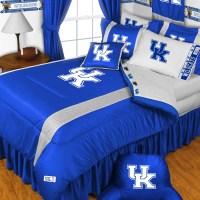 NCAA Kentucky Wildcats Bedding Set College Football Bed ...