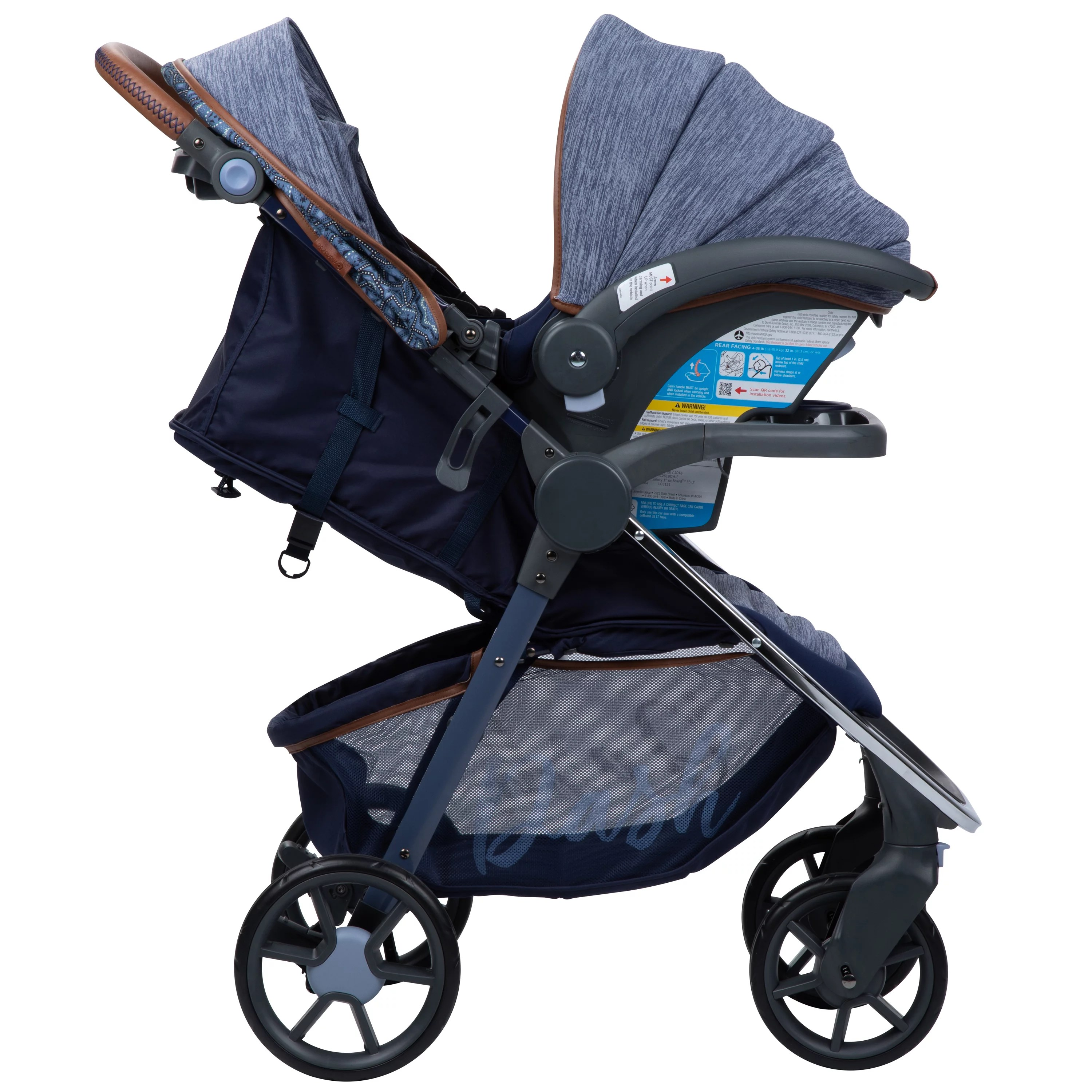 When To Switch From Car Seat To Stroller Monbebe Dash All In One Travel System Boho Walmart