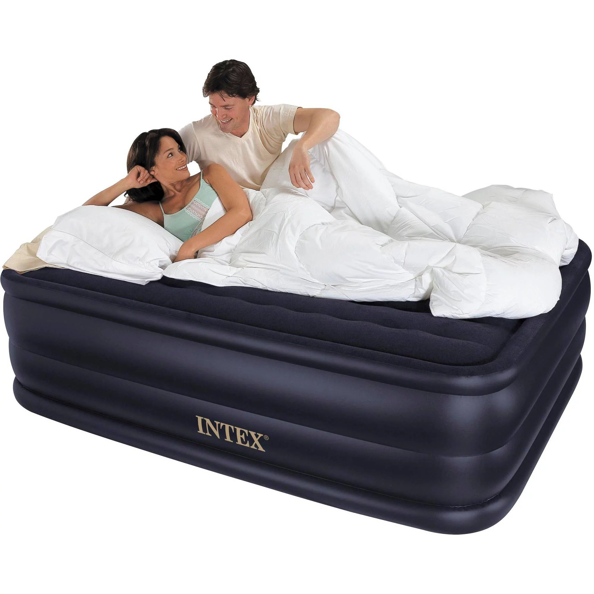 King Size Air Bed Camping Intex Queen 22