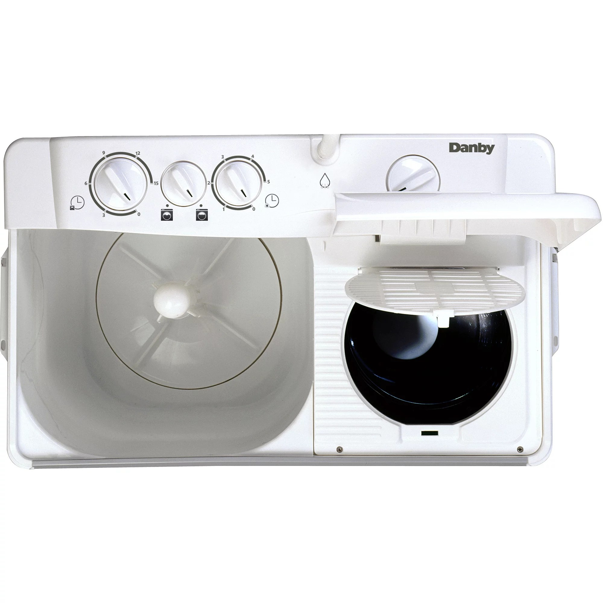 Sears Washer And Dryer Canada Danby 2 26 Cu Ft Twin Tub Washing Machine With Spin Dry White