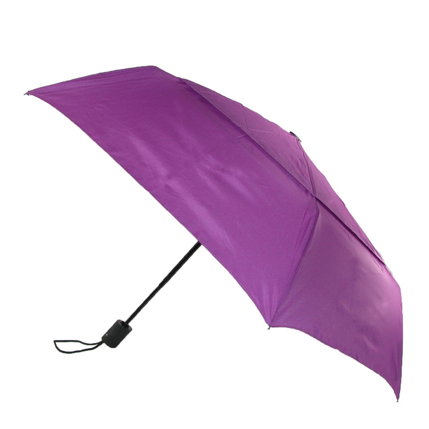 Compact Travel Umbrella Walmart Shedrain Men 39;s Auto Open Close Vented Compact Umbrella