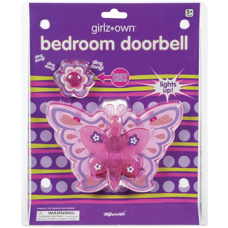 Toysmith Bedroom Doorbell Butterfly Walmartcom
