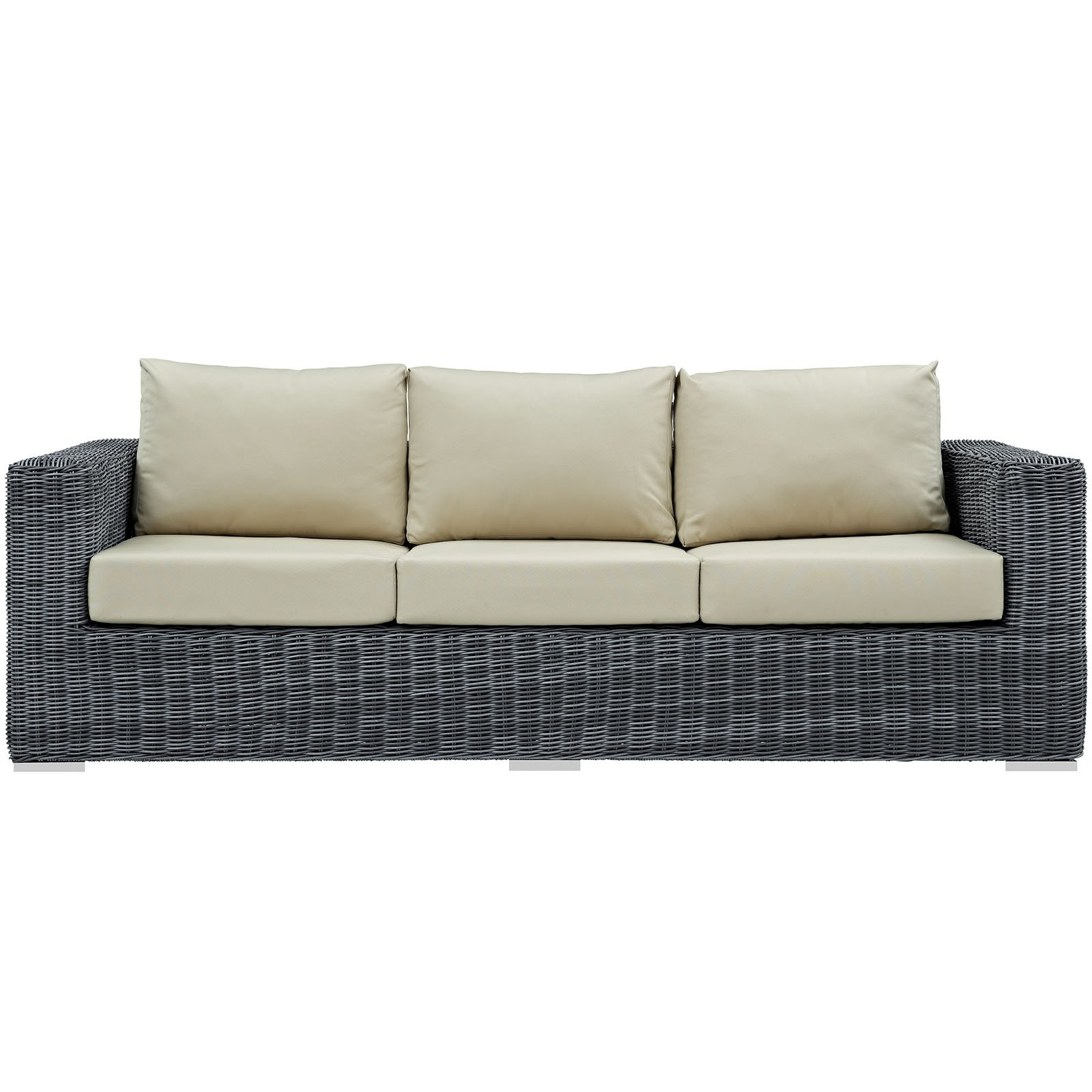 Outdoor Couch Modway Summon Outdoor Patio Sunbrella Sofa Multiple Colors