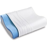 Sleep Innovations Gel Memory Foam Contour Pillow