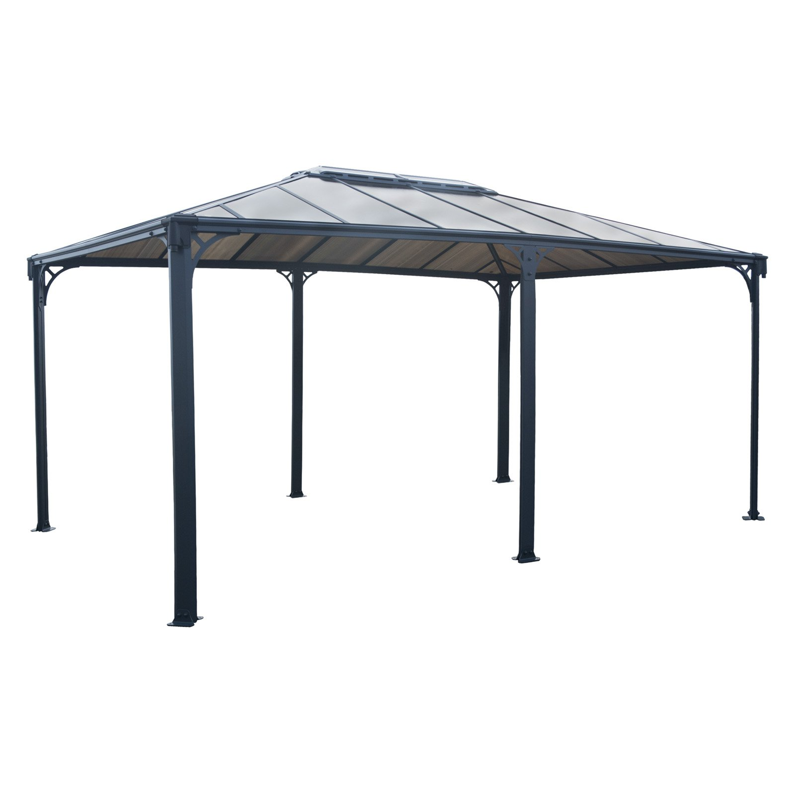 Metal Garden Gazebo Palram Martinique 12 X 16 Ft Garden Gazebo