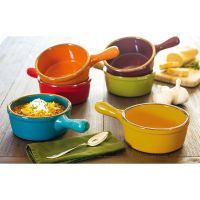 Handled Stoneware Soup Bowls - Set of 6 - Walmart.com