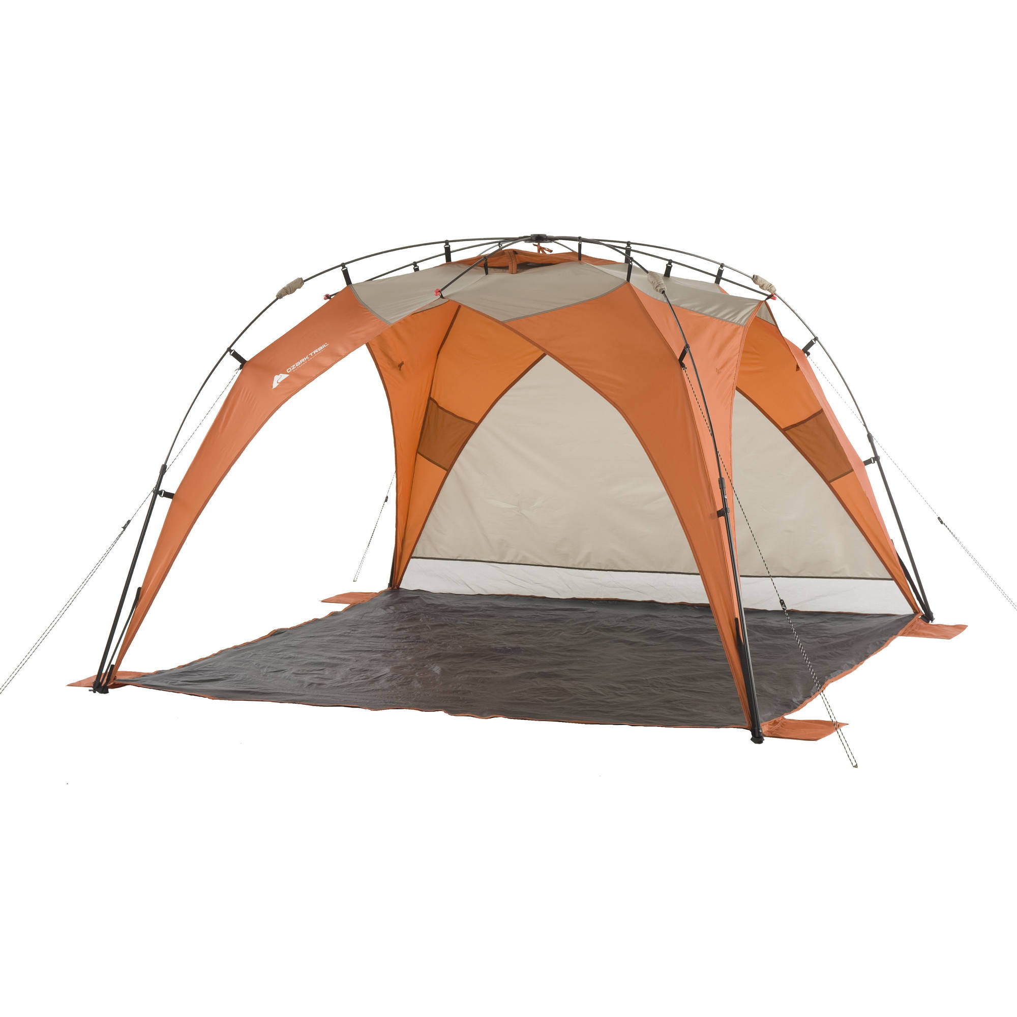 Pop Up Sun Shelter Canada Ozark Trail 8 X 8 Instant Sun Shade With Removable Sun Wall