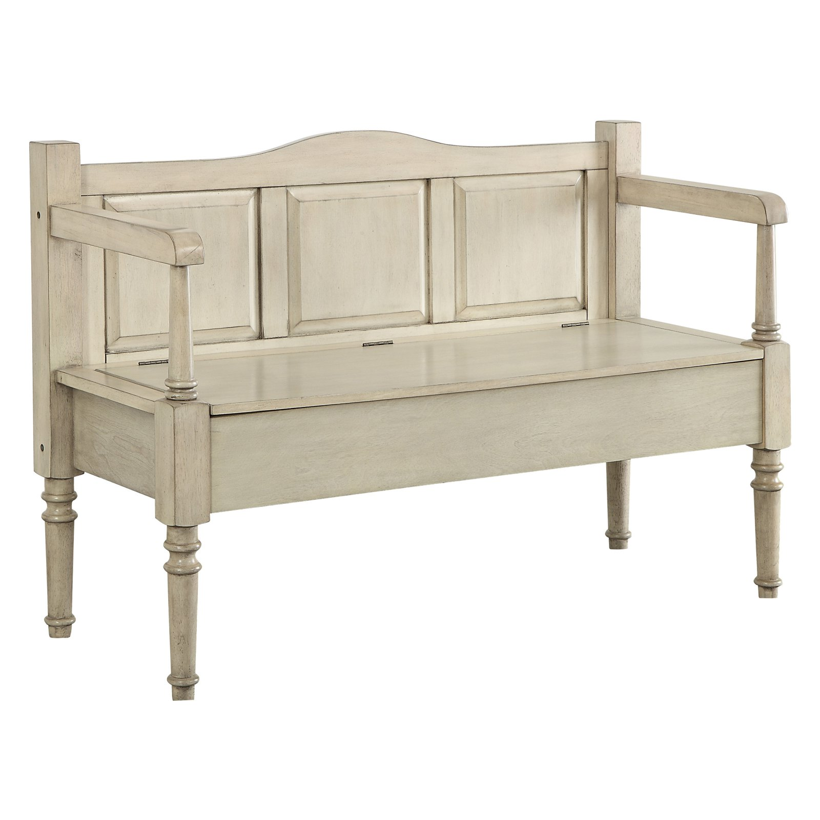 Wooden Storage Bench Furniture Of America Desiree Wooden Storage Bench