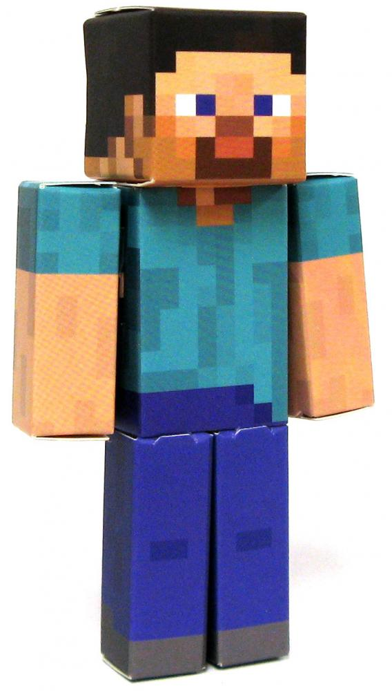Minecraft Steve Papercraft