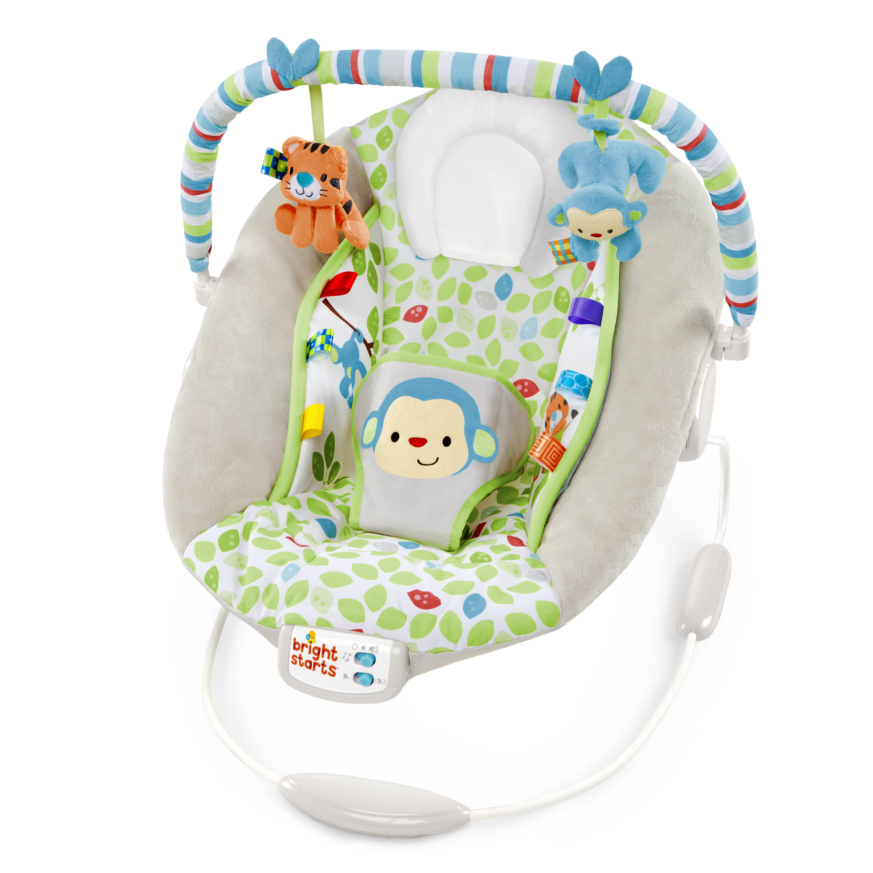 Bouncer Baby Bright Starts Merry Monkeys Cradling Bouncer