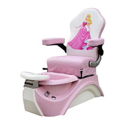 Kids Pedicure Chair Pink Sleeping Beauty Childs Pedicure