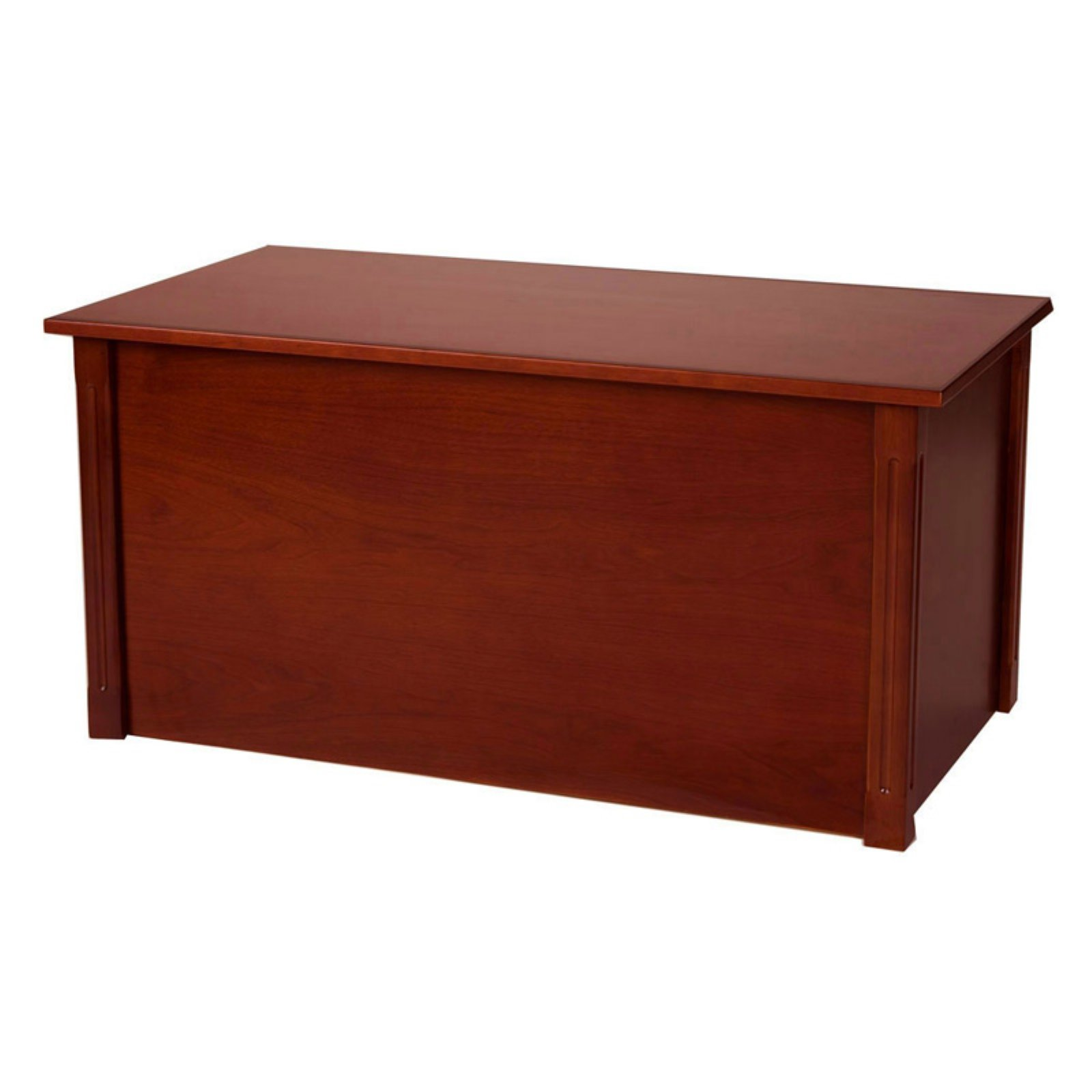 Wood Blanket Box Wood Creations Dark Cherry Classic Toy Or Blanket Chest