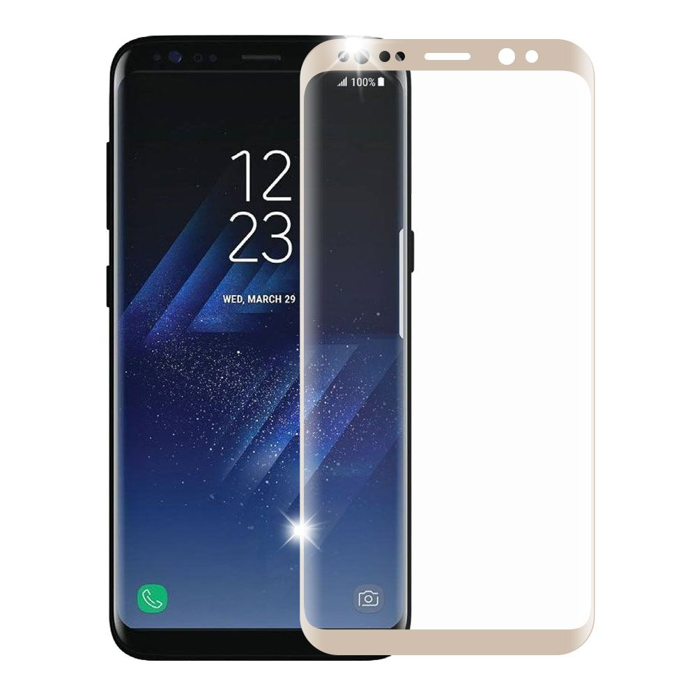 Samsung Screen Samsung Galaxy S8 Screen Protector By Insten Full Coverage Tempered Glass Screen Protector For Samsung Galaxy S8 Gold