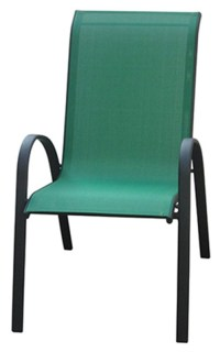 Courtyard Creations KTS666HG Verona Sling Stacking Chair ...