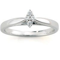 Always & Forever Platinaire Diamond Accent Cluster