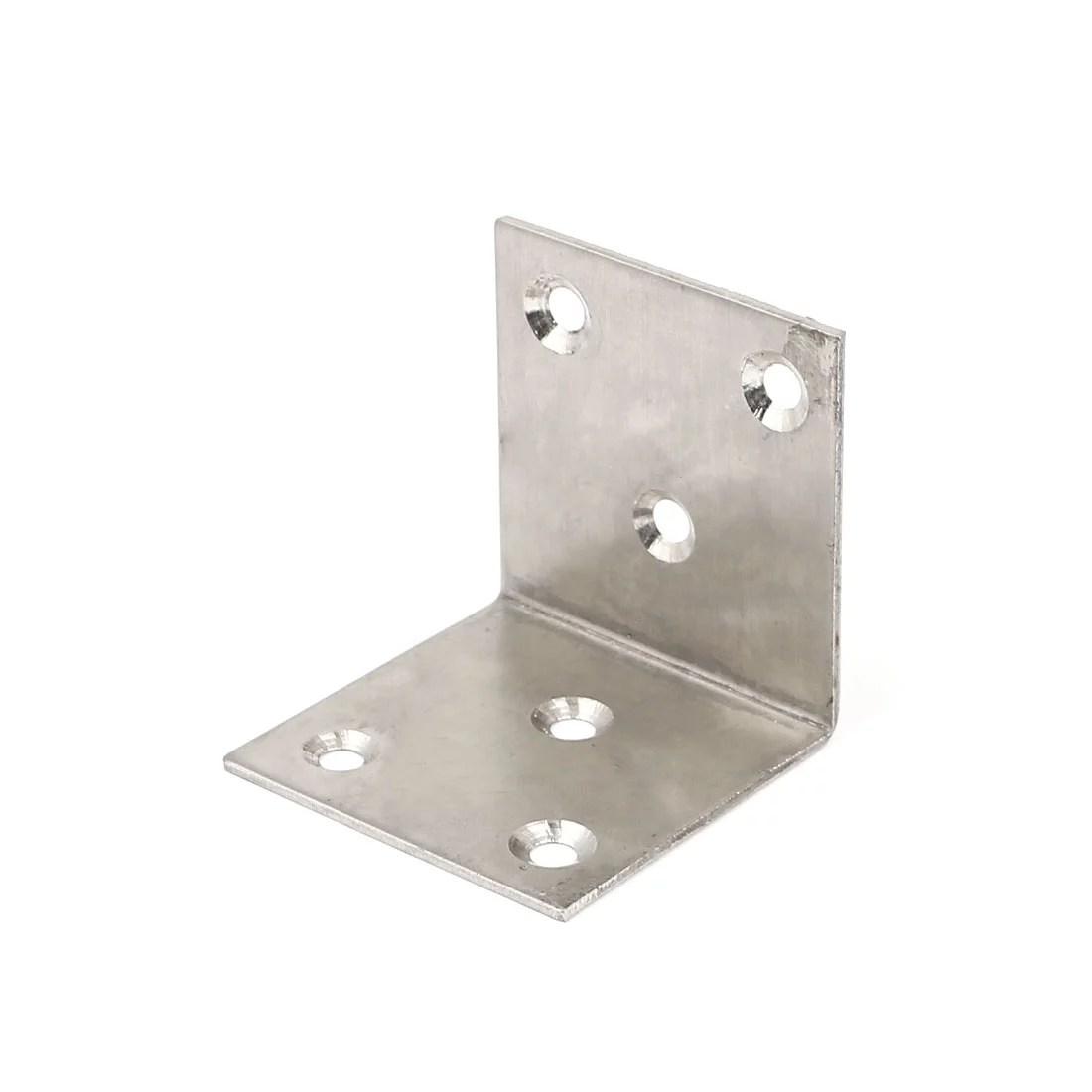 50mmx50mm L Shape Stainless Steel Shelf Wall Corner Brace