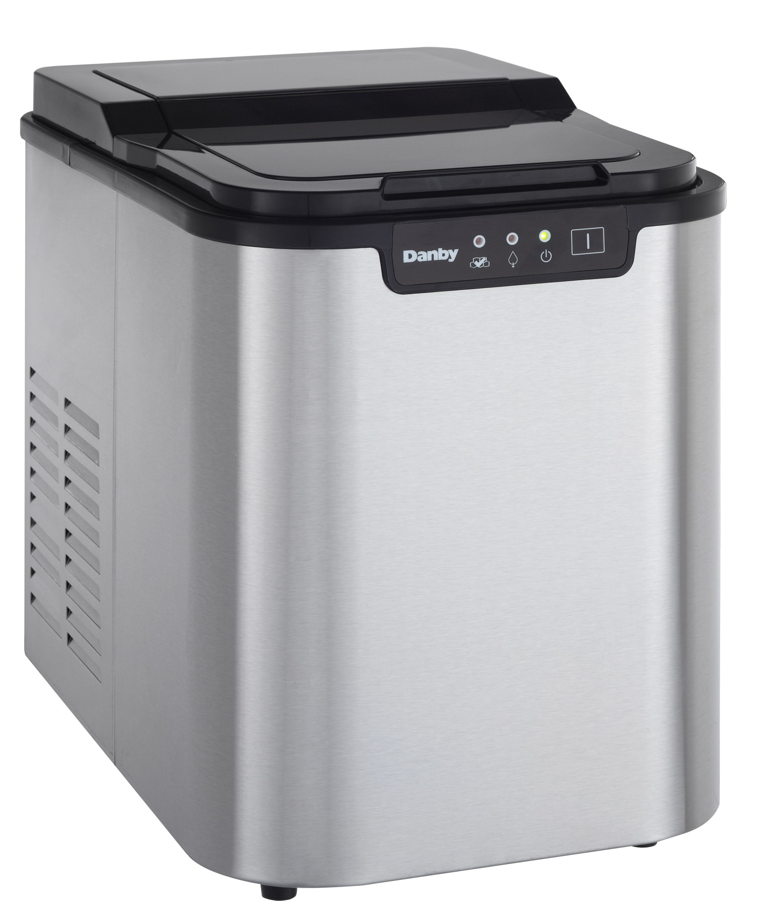 Countertop Ice Maker Walmart Danby Portable Ice Maker In Stainless Steel