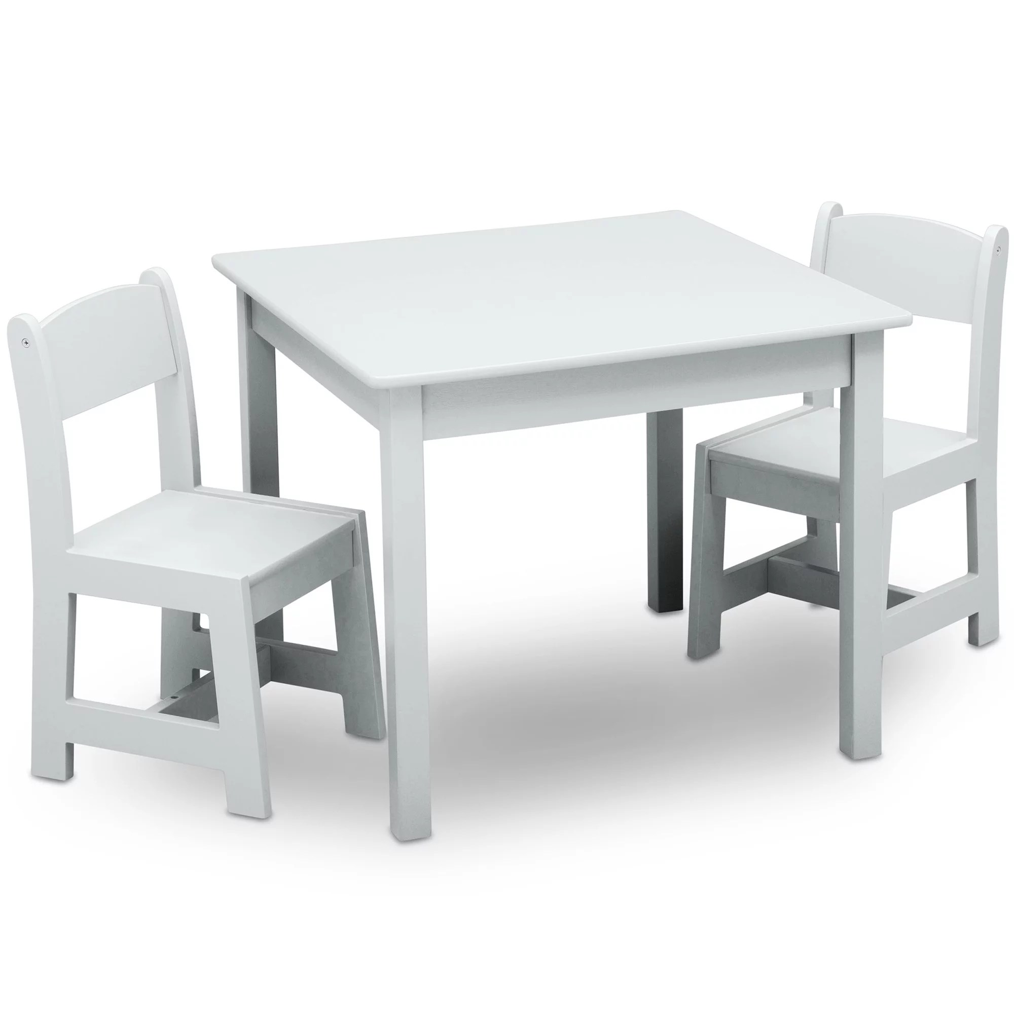 Childrens Table And Chair Set Delta Children Classic Kids Table And Chair Set Bianca White