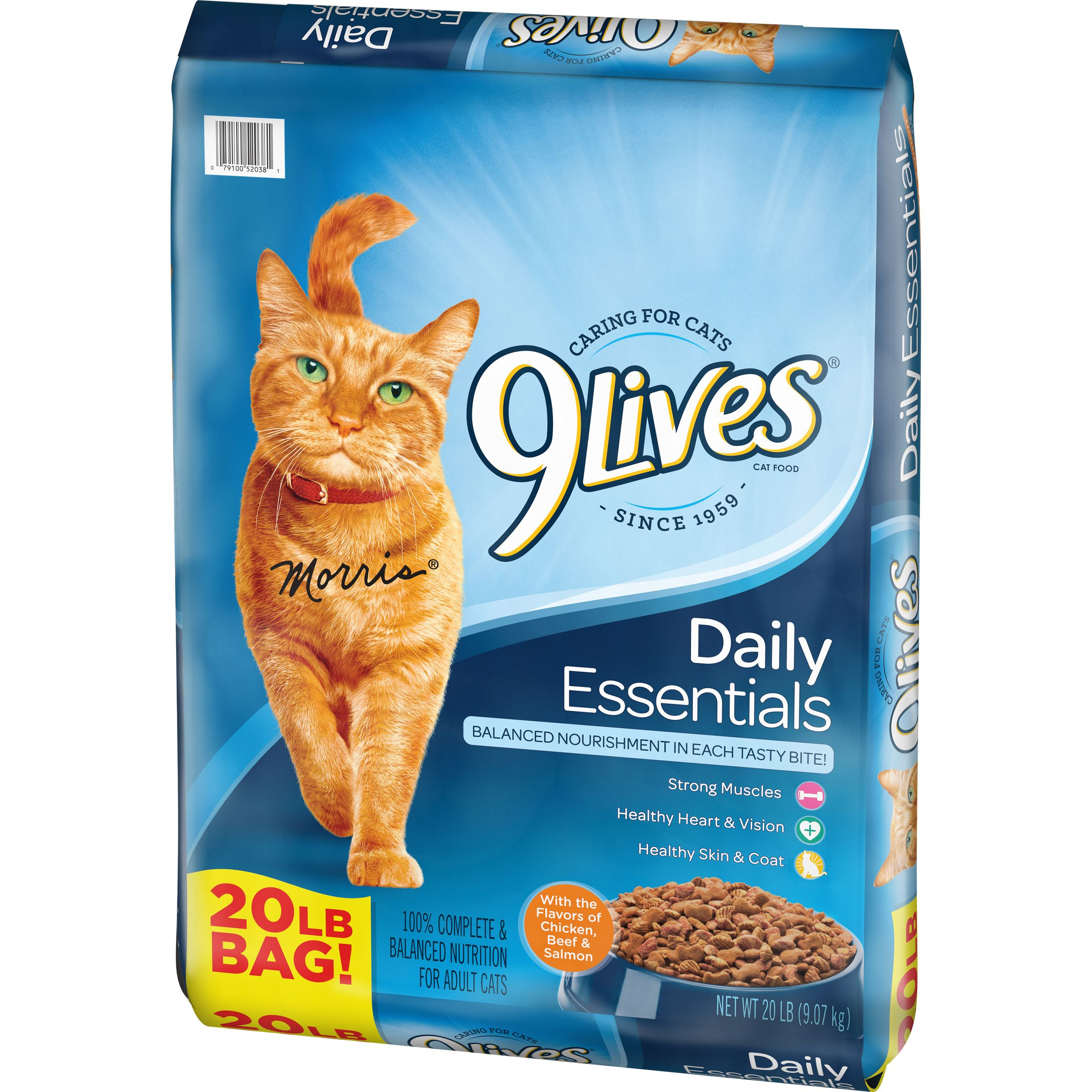 Sessel Pollo 9lives Daily Essentials Dry Cat Food 20 Pound Bag